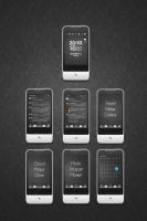 HTC Legend minimal theme by mb-neo