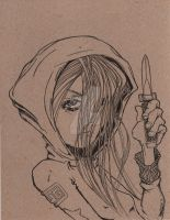 Red Riding Thug - WIP by BrotherHaller