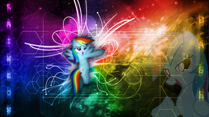 Rainbow Dash - Inspirational Wallpaper 1920x1080 by forgotten5p1rit