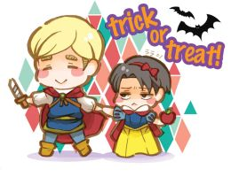 trick or treat by Nenke