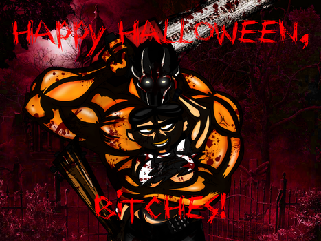 Happy Halloween,Bitches by drago-flame