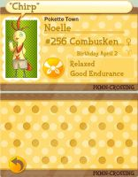 PKMC Application Noelle by oranlarvitar