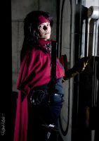 Inside the walls - Vincent Valentine cosplay by Grenier-Illiane