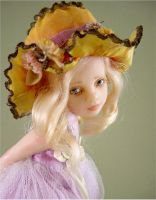 Flower Pixie detail by Inchelina
