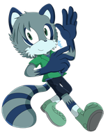 .:PC:. SX-Kyle the Racoon by elisonic12