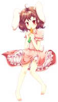 Tewi_Once_Again by Myen-Nyan