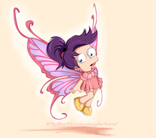 Alice Fry the butterfly by MissFuturama
