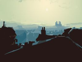Across the Rooftops Concept by DanteHR