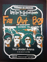 Fall Out Boy Poster [black] by Xadrea