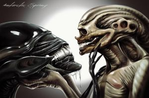 Alien Resurrection by AntarcticSpring