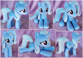 The Great and Apologetic Trixie Beanie Plush by ButtercupBabyPPG