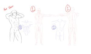 Tutorial - How to Draw Muscles by Micky-K