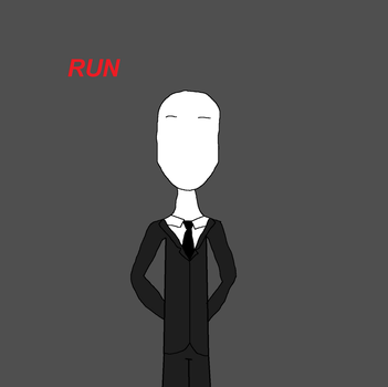 The Slenderman by TheSapphireMiner