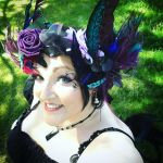 Blackberry Fairy portrait  by missmarypotter