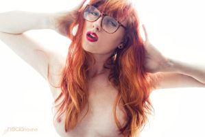 The hipster glasses by NeciaNavine