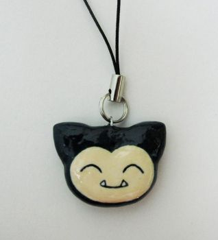 Snorlax Charm by caffwin