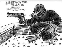 Destroyer Duck by javierhernandez