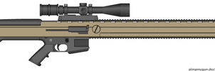 Cestus anti-materiel rifle by Robbe25