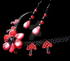 summer night necklace by kufka