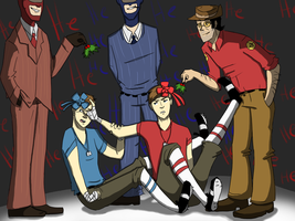 TF2- Merry Christmas...? by o-Kairos-o