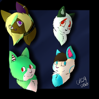 HEADSHOTS by CollectionOfWhiskers