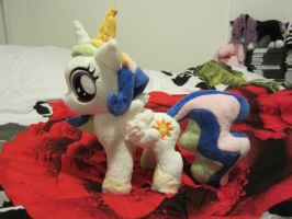 Filly princess Celestia plush by Little-Broy-Peep