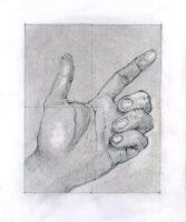 Hand study BE 2 by hardcorish