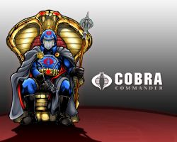 Cobra Commander Wallpaper 2 by RedStarMedia