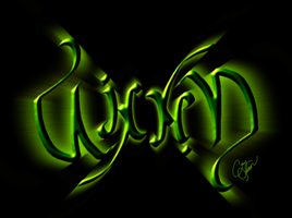 Wicked Ambigram by Cor104