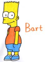 Bart Simpson by YouCanDrawIt