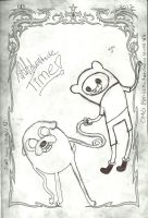 Finn And Jake - AAADVENTURE TIME! by SymzTew