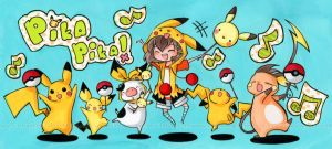 PIKA PARADE by cartoongirl7