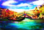The Gondolas Of Venice, Italy By alx234 by zenx007