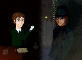 Dr. Jekyll and Mr. Hyde by White-Feather