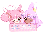 ENDED   Heartdoll 48 hr FREE MYO event by Valyriana