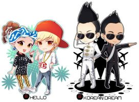 GD HELLO AND KOREAN DREAM by jessy-izan