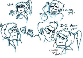 korra sketch dump by CupCakePandemic