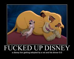 simba, timon and pumbaa motivational by alucardserasfangirl
