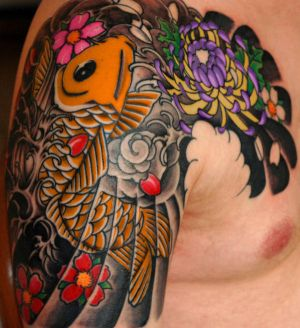 Tribal Japanese Tattoos