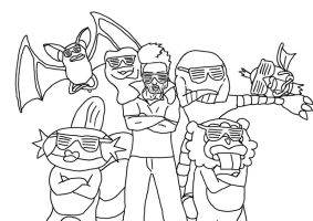 Douchey Team of Douchiness by Angry-buddha-88