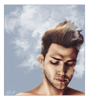 Xavier Dolan - Coloured by FaerietaleWaltz