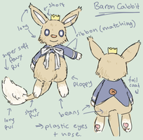Barron Cabbit plush concept by scilk
