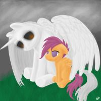 The Final dream of a filly by The-Laughing-Horror