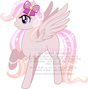 Pink Pegasi Adoptable (CLOSED) by KingPhantasya