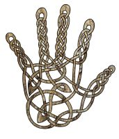 Celtic Hand by Artistfire