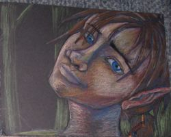 Sam color pencil by cheshireINwonderland
