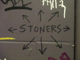 Stoners Are Everywhere by Bauvy