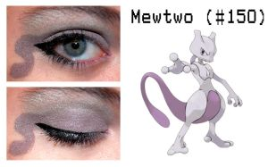 Pokemakeup 150 Mewtwo by nazzara