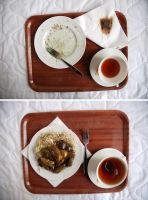 Lunch time diptych by Garmonbozia