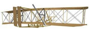 1903 Wright Flyer Behind by ChozoBoy